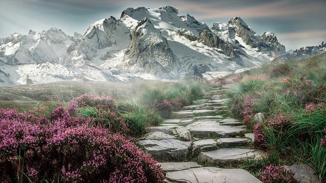 tapeta horské přírody
