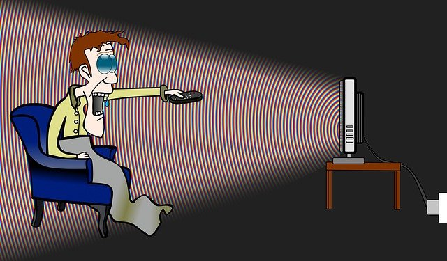 histerie u televize