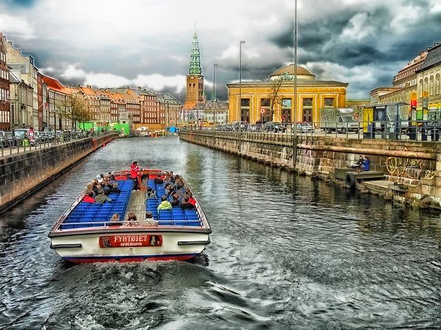 řeka v Kodani