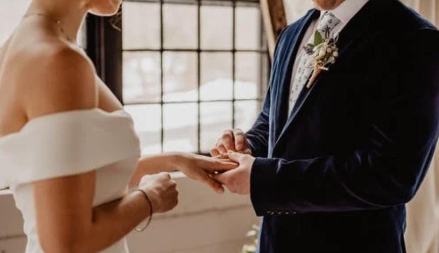 svatební prstýnek